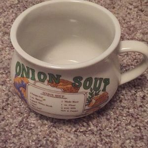 Other - Onion Soup Recipe Mug